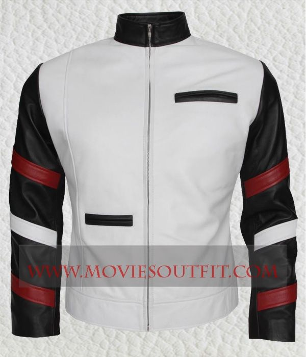 Vintage Celebrity Bruce Lee Slim fit Casual Leather Jacket