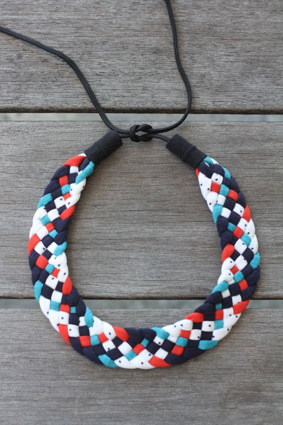 Flat Woven Necklace