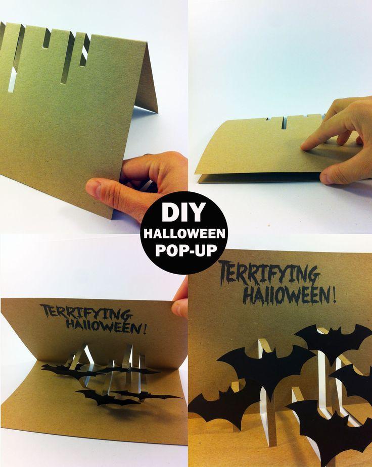 DIY HALLOWEEN pop-up