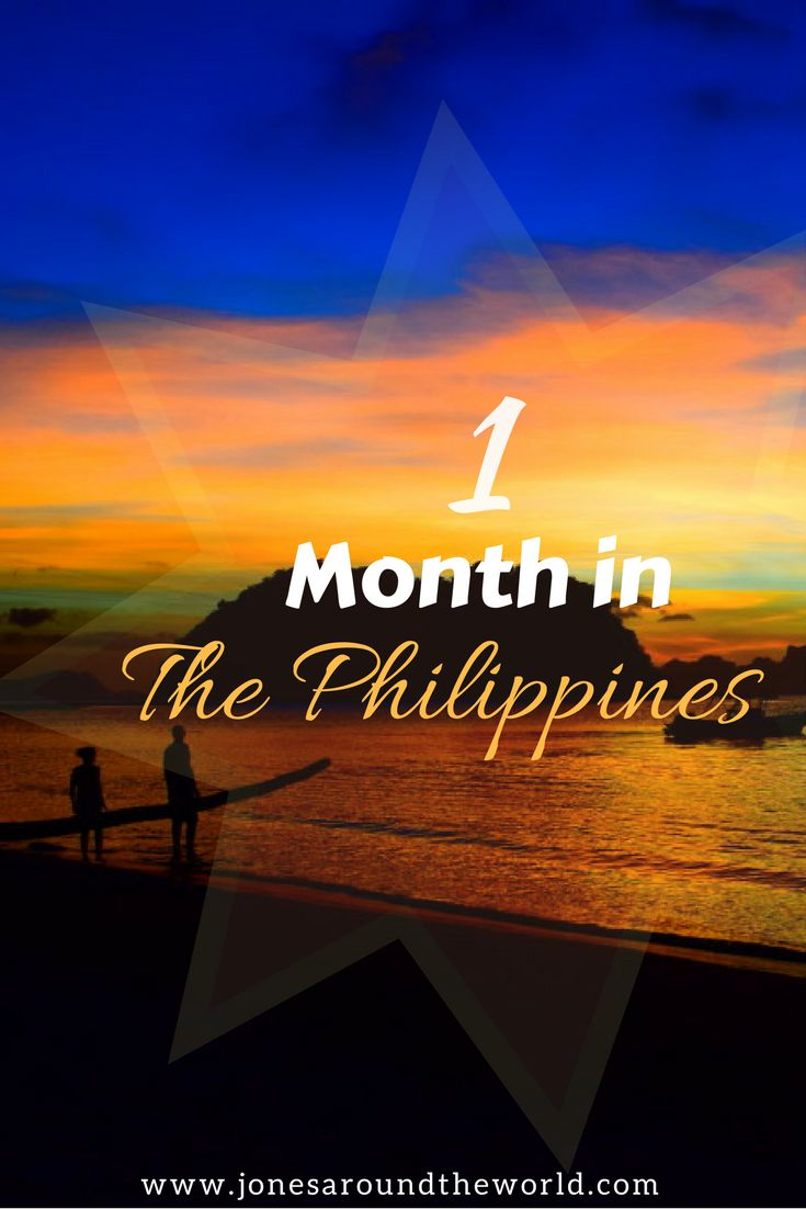 1 Month In The Philippines TRAVEL ITINERARY!!