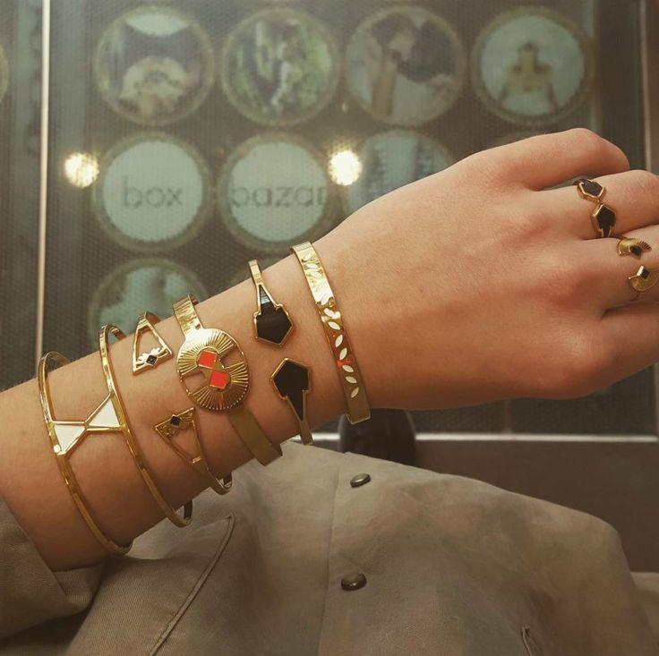 Inspirations de bagues et bracelets Anne Thomas chez Box Bazar L'été approche !