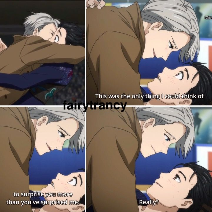 I SAY YURI AND VICTOR DID INDEED KISS! NO ARGUMENTS THERE