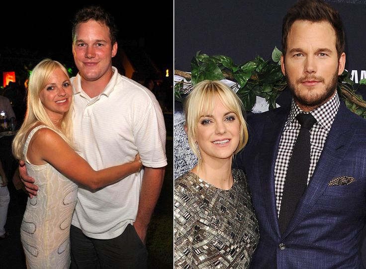 Chris Pratt' and wife Anna Faris