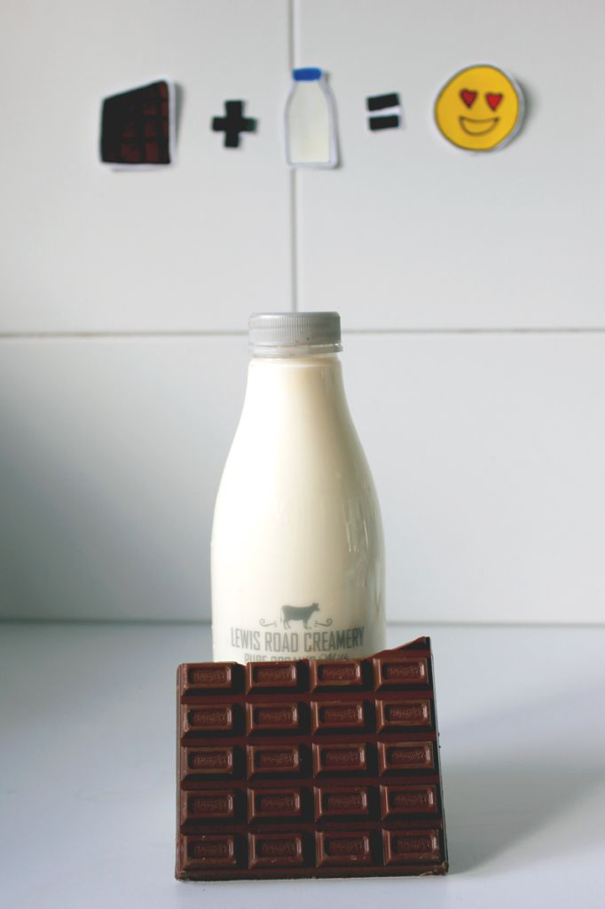 Whittaker's/Lewis Road Creamery milk. No need to line up before 9am, just make your own.