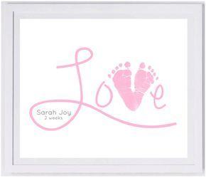 Love Scripty Footprint Wall Art 1500_hand and by MyForeverPrints