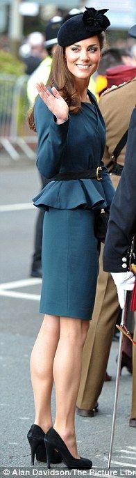 l.k. bennett 1940's suit - she is so chic.