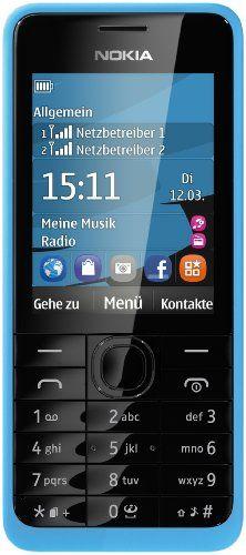 "Nokia 301 DUAL - Móvil libre (pantalla 2.4"", cámara 3.2 MP, 64 MB RAM) [importado] B00DHLLA2Q - http://www.comprartabletas.es/nokia-301-dual-movil-libre-pantalla-2-4-camara-3-2-mp-64-mb-ram-importado-b00dhlla2q.html"