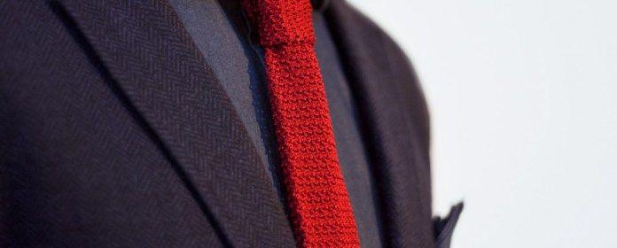 Gebreide das 6 - profruomo  - Must-wear: De gebreide stropdas - Manify.nl