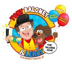 The best magic and puppet show in Cork. Kids love Tony Baloney and Leroy, his talking dog.