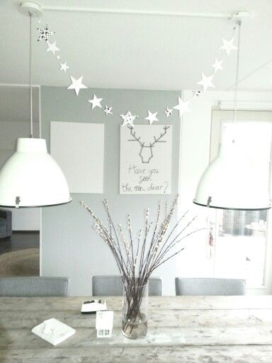 Stars above the table