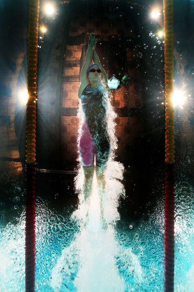 Mireia Belmonte Garcia of Spain competes during the Swimming Women's 800m Freestyle preliminaries heat two on day fourteen of the 15th FINA World Championships at Palau Sant Jordi on August 2, 2013 in Barcelona, Spain.