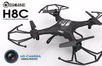Eachine H8C Quadcopter With 2.0MP HD Camera 2.4G 6-Axis Headless Mode RC Quadcopter Drone RTF Mode 2 (Black) http://astore.amazon.com/actionconsume-20/detail/B017BFWZJK