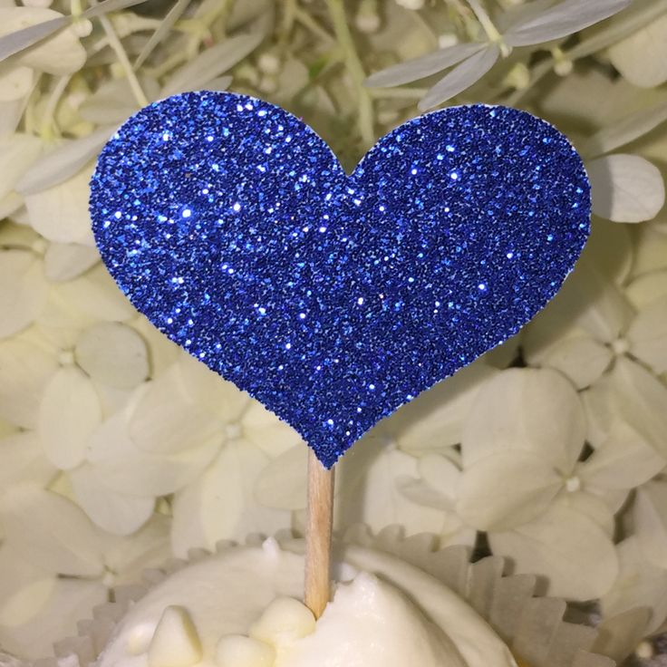 A personal favorite from my Etsy shop https://www.etsy.com/listing/221030081/120-heart-cupcake-toppers-sparkling