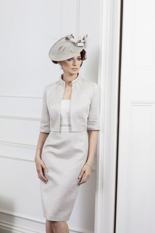 Celebrating Mothers Day with 10 x Gorgeous Mother of the Bride Outfits; Style 25517 by John Charles