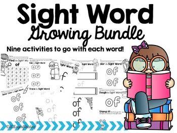 original jordan 11 black and red Sight Word Printable Center Activities  The Bundle