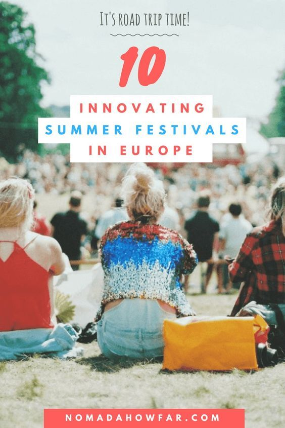 10 Innovating Music Festivals In Europe - Pinterest Image