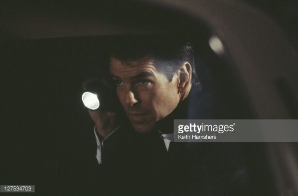 Irish actor Pierce Brosnan as 007 in the James Bond film 'The World Is Not Enough' 1999