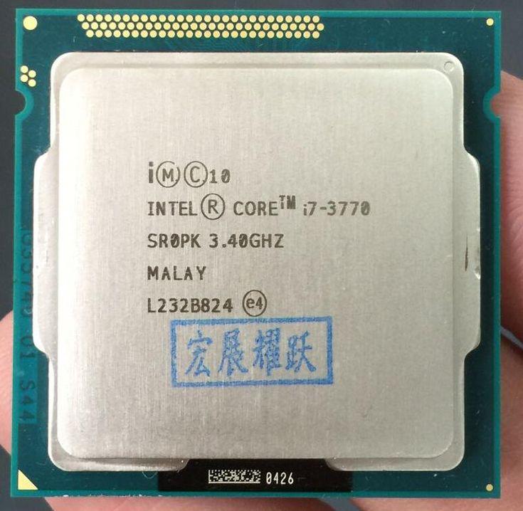 Used Intel Core  i7-3770 I7 3770  Processor cpu LGA 1155 //Price: $214.76//     #Gadget
