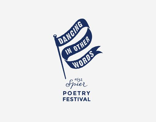 Dancing in other words Poetry Festival - logo design www.room13.co.za