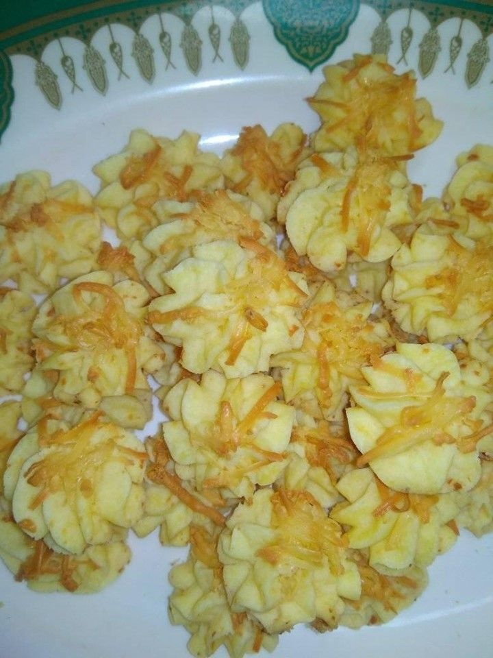 Semprit Maizena Keju By Zivia Verlita P S Langsungenak Com Resep Kue Kering Keju Makanan