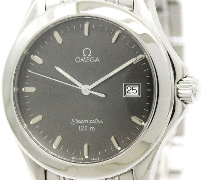 Omega Seamaster 120m 2511.41 Stainless Steel Quartz 36mm Mens Watch