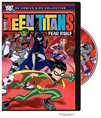 Scott Menville & Greg Cipes - Teen Titans: Season 2, Vol. 1 - Fear Itself