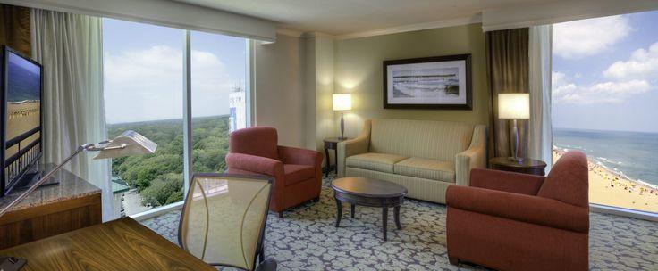 A brand new VA Beach Boardwalk hotel, Hilton Garden Inn Virginia Beach Oceanfront offers easy access to the ocean, two restaurants and new accommodations.