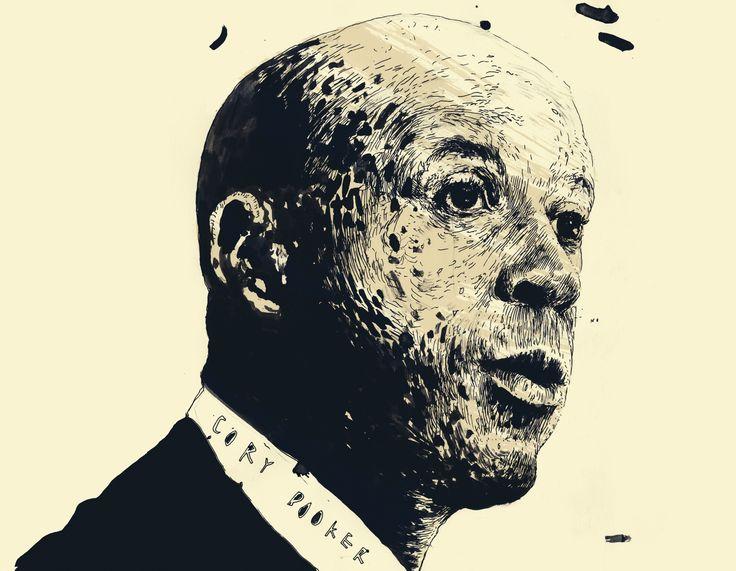 Inside The Mind of Cory Booker by Noam Scheiber http://on.tnr.com/17JOTgY Illustration by Simon Prades