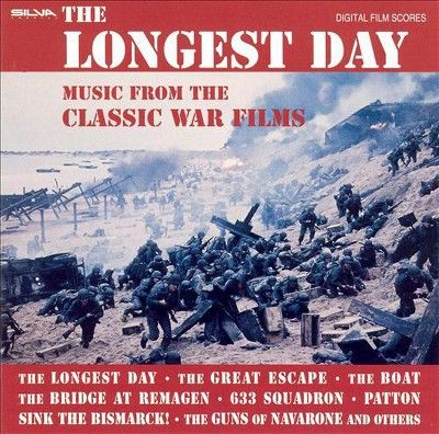 Various Artists - The Longest Day: Classic War Films (CD)