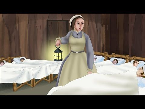 Florence Nightingale Biography for Kids | Bedtime Stories | Stories for Kids | Kids Stories - YouTube