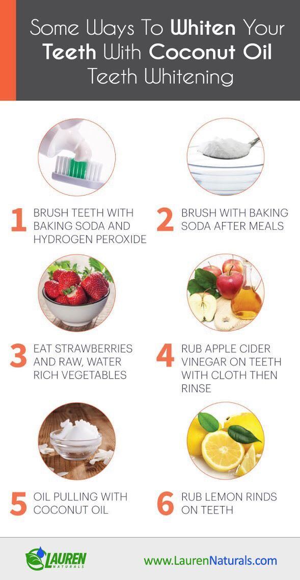 Some Ways to Whiten Your Teeth with Coconut Oil Teeth Whitening. #teethwhitening #teethcare #coconutoil #coconutoilusestee
