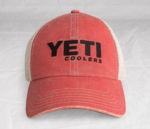 Yeti Washed Low-Pro Trucker Hat  This rugged low profile hat comes right off the shelf looking like it's got more than a few tales to tell. Go out and make new stories with it. Made with 60% cotton/40% Polyester front with a classic mesh back and an adjustable snap closure. #YETI  #SaffordTradingCompany