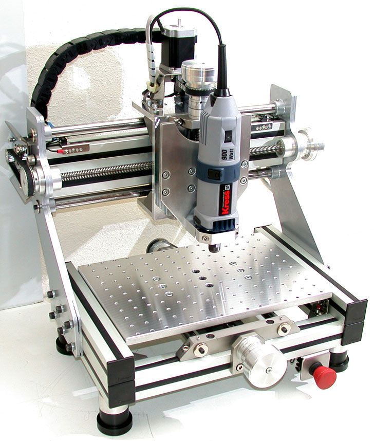 diy cnc router by Devilmaster, Spain