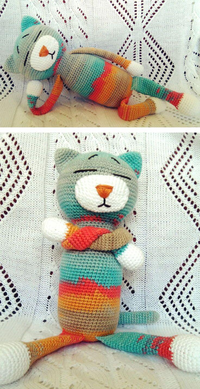 Large Ami Cat Crochet Pattern Crochet Patterns Amigurumi