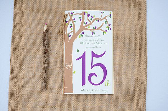 15 Year Wedding Gift: 17 Best Images About 15th Wedding Anniversary Party Ideas