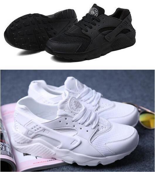 Cheap 2016 venta al por mayor a estrenar hombres y mujeres Sneakerlis negro y blanco puro Sneakerlis runuing footing size36 44 el envío gratis, Compro Calidad Footies directamente de los surtidores de China:  000000