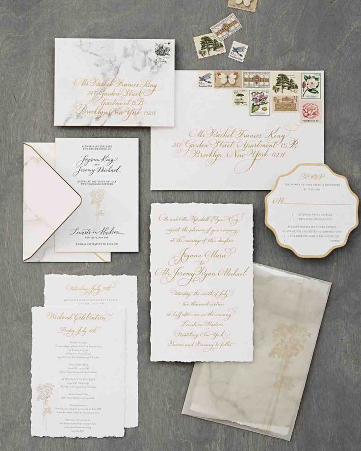 wedding invitations from michaels crafts%0A The Most Beautiful Wedding Invitation Trends For