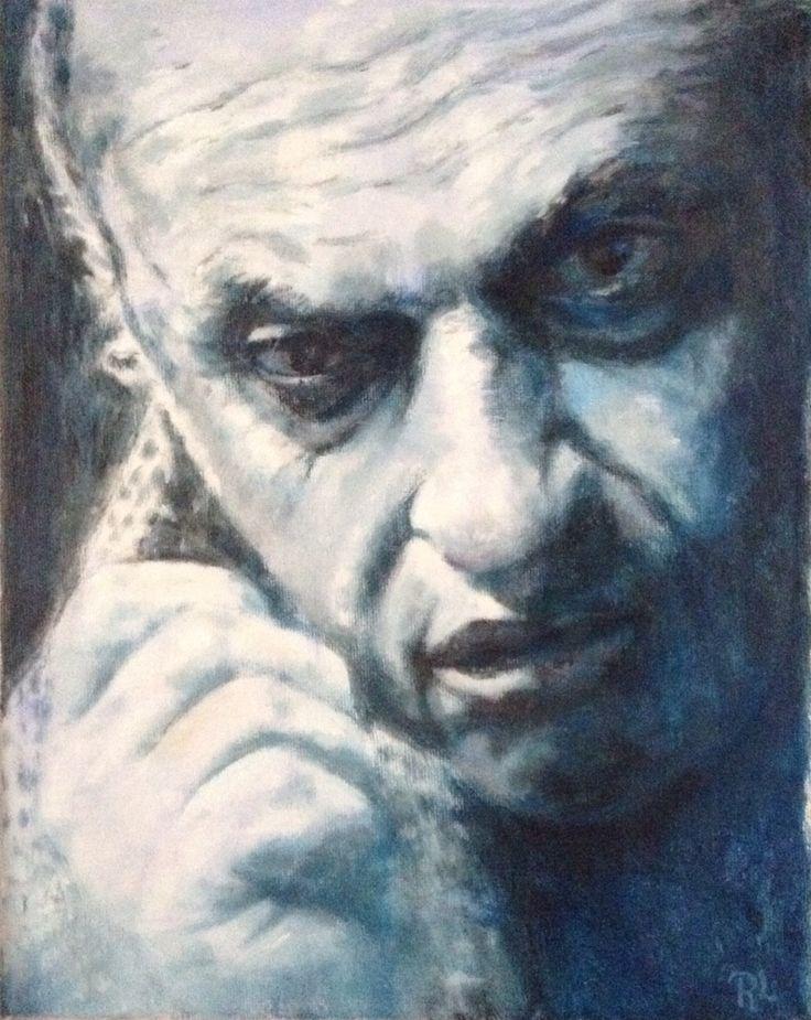 zlatko buric# 24x30# acrylic on canvas# rithva.dk