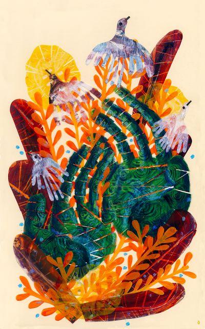 CALVERT: El derecho de vivir en paz (seleccionada para exposición #MalaMemoria) #Illustration #Ilustracion