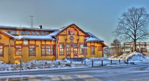 The Old Jyväskylä Railway Station, 13.3.2011, 8:21