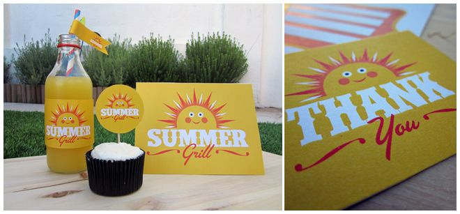 Free Exclusive Summer Grill Party Printables! | Pizzazzerie