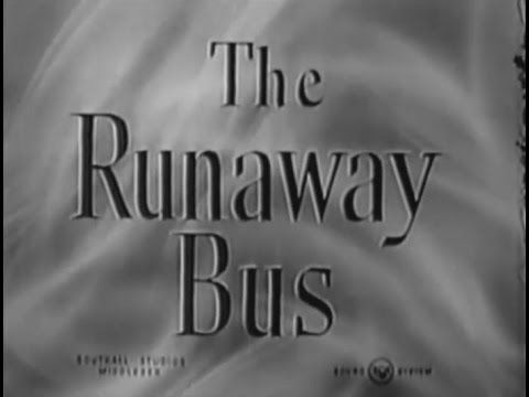1954 - British Comedy Film 'The Runaway Bus' With Frankie Howerd, Margaret Rutherford and Petula Clark. It was made at Southall Studios in London.