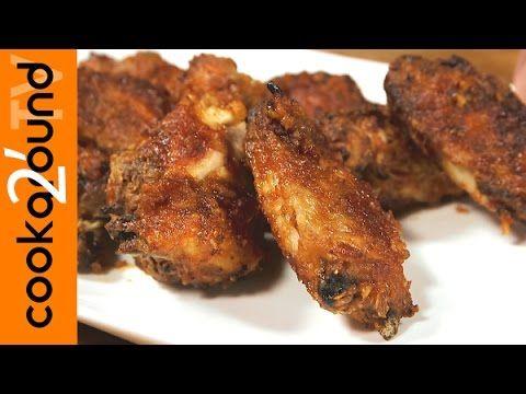 Alette di pollo piccanti al forno - YouTube