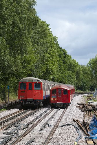 A and 1938 Stock. This type of A stock ran on the Met line until a few years ago.