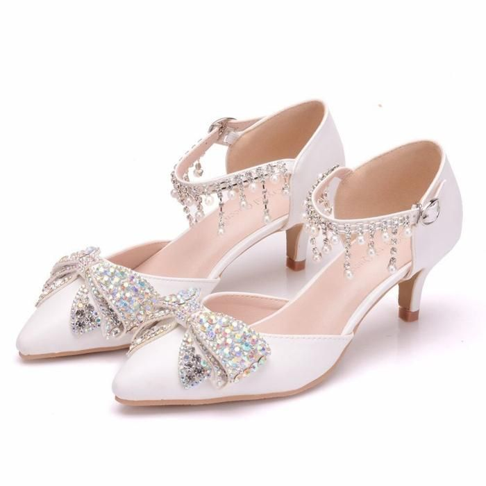 Luxury Rhinestone High Heels Wedding Sandals Bridelily Rhinestone High Heels Wedding Shoes Pumps Rhinestone Wedding Shoes