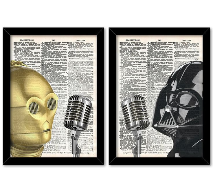 Gift for husband, Black and Gold Decor, Darth Vader Print, Cinema room print, Gift for husband, Wall Art Star Wars, Boyfriend Birthday Gift