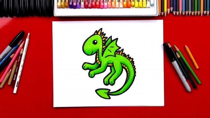 Hoe maak je een Draak Cartoon (Art Clubleden)