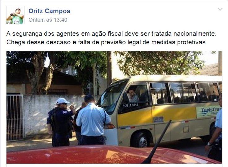 19/11/2014 - agressão a Fiscais