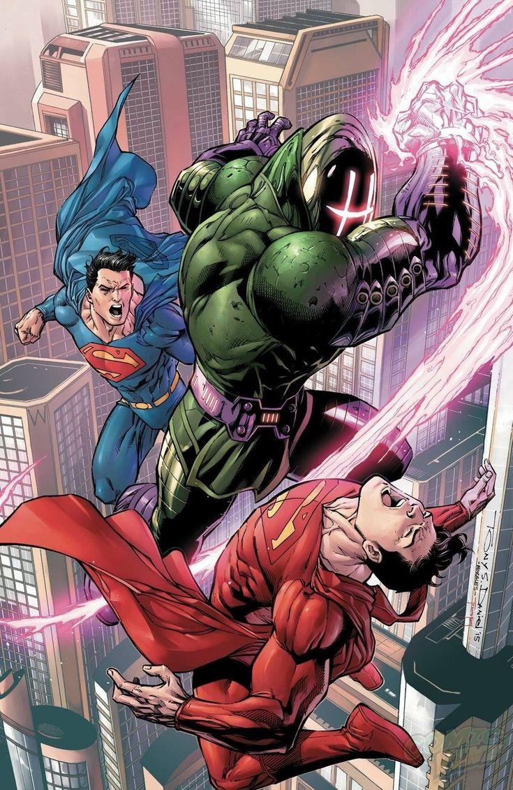 80 Super ilustraciones de Superman, el primer superheroe #comicart