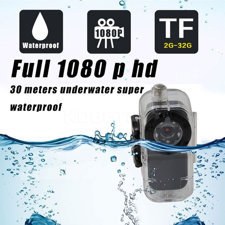 Amazon.com : Esycar Video Resolution Waterproof Mini Action Camera HD1080P mini Sport DV camcorder with 150 degree fisheye wide angle lens : Camera & Photo